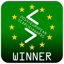 European Search Awards Winner 2014