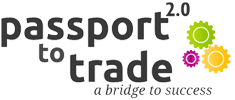 Business Culture project logo - Passport to Trade 2.0