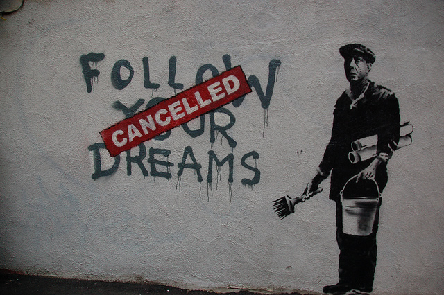 Follow your dreams, image (CC) by Chris Devers