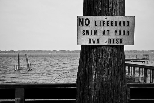 Swim at your own risk (CC) Todd Shaffer