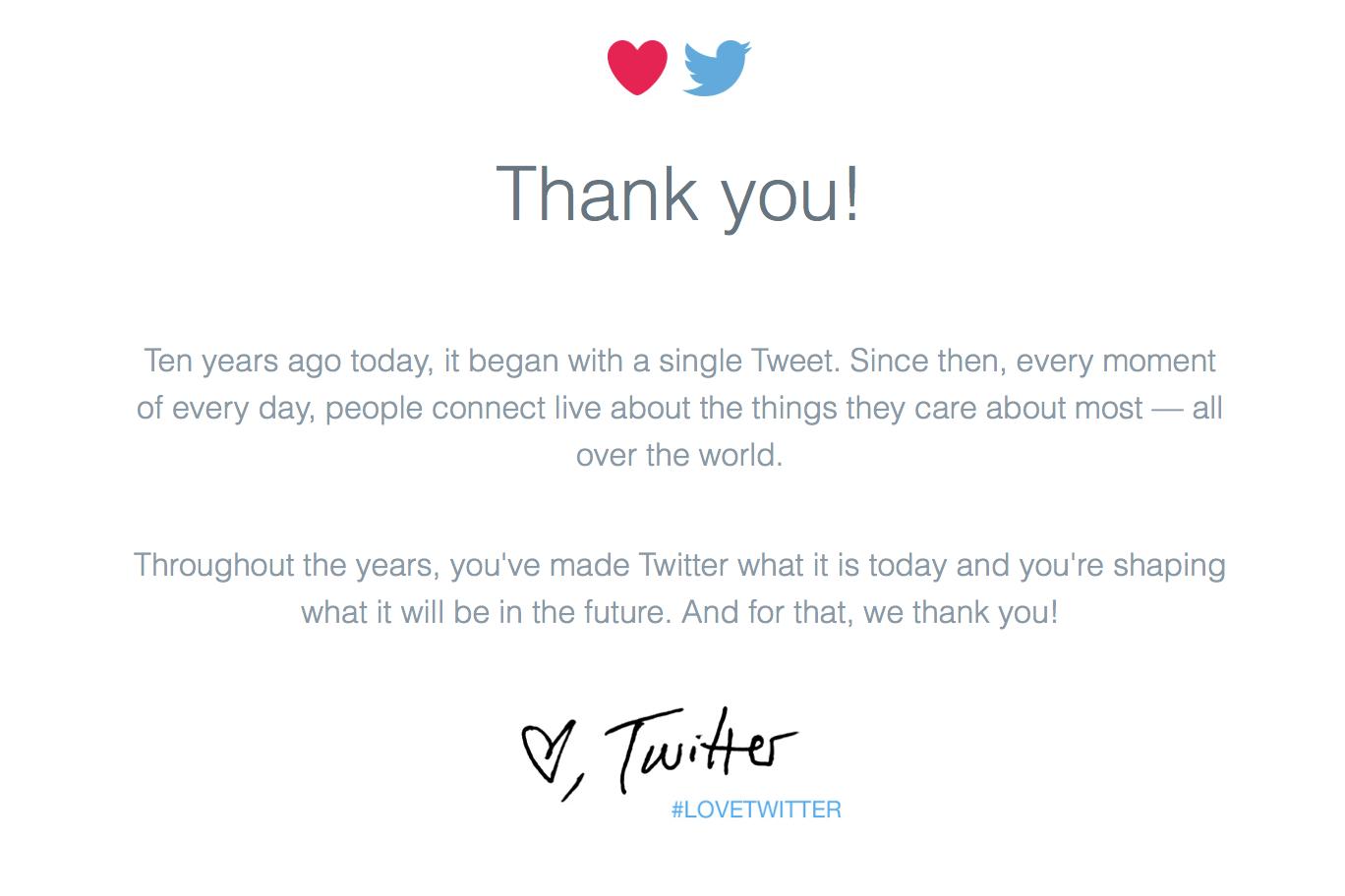 #LoveTwitter Love Twitter