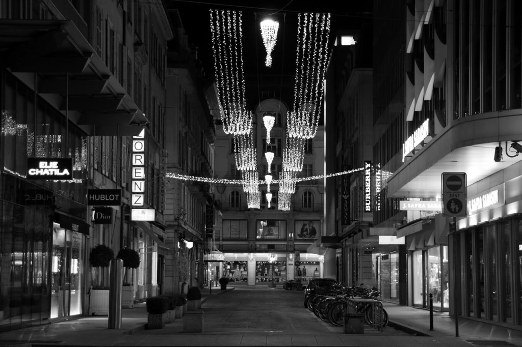 Geneva european luxury brand image