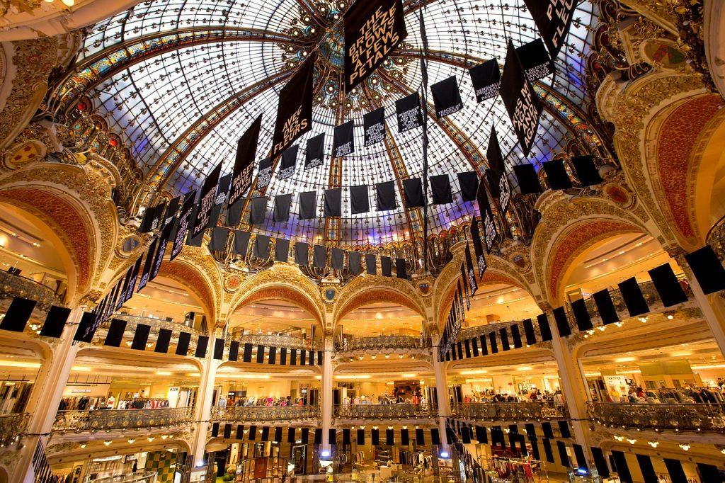 Paris european luxury brand
