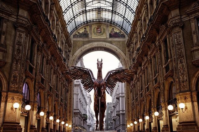 Milan luxury store image
